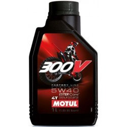 Масло Motul 300V 4T FACTORY LINE OFF ROAD 5W-40 1L
