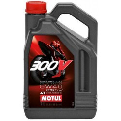 Масло Motul 300V 4T FACTORY LINE ROAD RACING 5W-40 4L