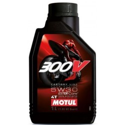Масло Motul 300V 4T FACTORY LINE ROAD RACING 5W-30 1L