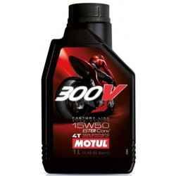 Масло Motul 300V 4T FACTORY LINE ROAD RACING 15W-50 1L