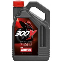 Масло Motul 300V 4T FACTORY LINE ROAD RACING 15W-50 4L