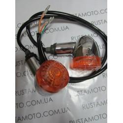 Поворотники хром zs250-5