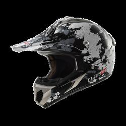 Кросс шлем LS2 MX433 BLAST WHITE TITANIUM