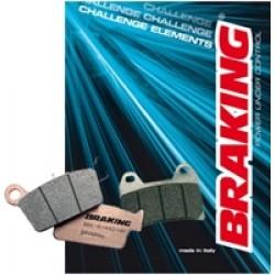 BRAKING Тормозные колодки задние BR 742CM56