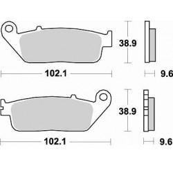 BRAKING Тормозные колодки BR 720SM1