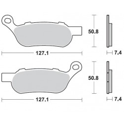 BRAKING Тормозные колодки BR 944CM88