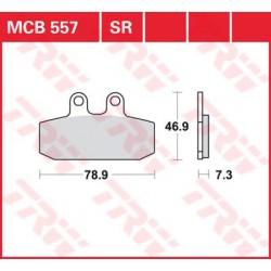 TRW / LUCAS Тормозные колодки LUCAS MCB 557