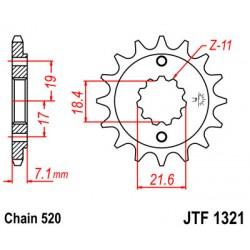 Звезда передняя JT JTF 1321.13