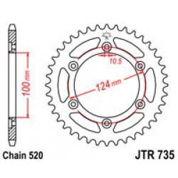 JT JTR735.45 Звезда задняя