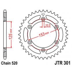 JT JTR301.40 Звезда задняя