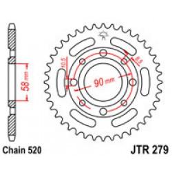 JT JTR279.30 Звезда задняя