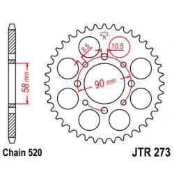 JT JTR273.42 Звезда задняя  (на Geon Hammer 300)