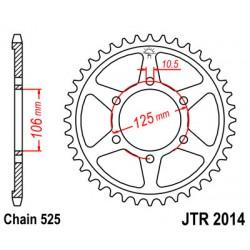 JT JTR2014.50 Звезда задняя