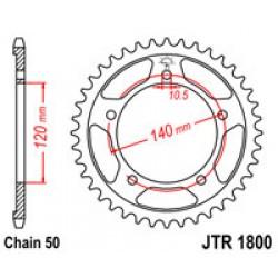 JT JTR1800.43 Звезда задняя