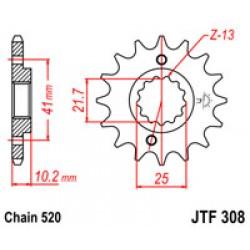 JT JTF308.14 Звезда передняя