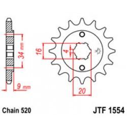 JT JTF 1554.13 Звезда передняя