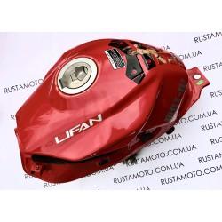Б/у Lifan LF200-10S Бак топливный Lifan LF150-10В + датчик и кран(БЕЗ КРЫШКИ БАКА)