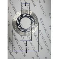Тормозной диск задний  Zongshen Winner zs200gs / zs250gs